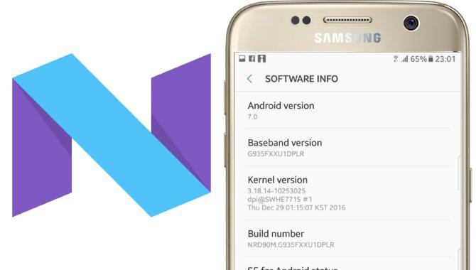 Samsung Galaxy S7 og S7 edge får nu Android 7.0 Nougat