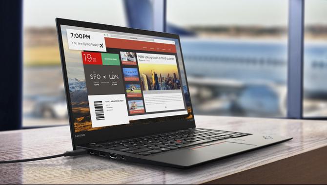 Lenovos ThinkPad X1 bliver slankere og vildere