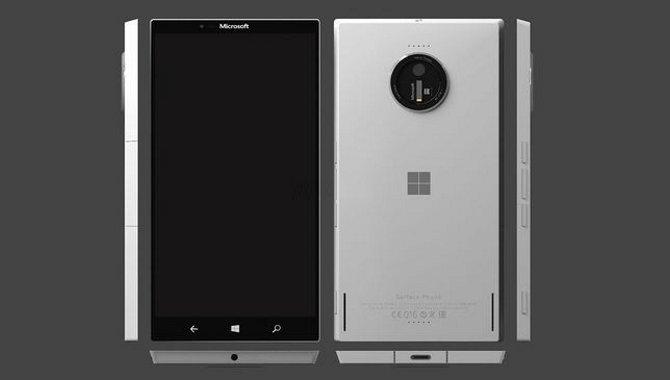 Første billeder ude: Her er Microsofts Surface Phone