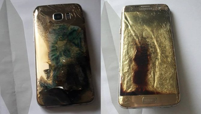 Dansk kvindes Samsung Galaxy S7 edge smeltede natten over