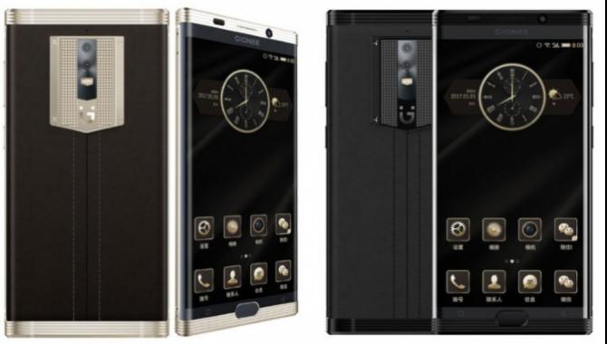 Gionee M2017 får verdens største mobilbatteri
