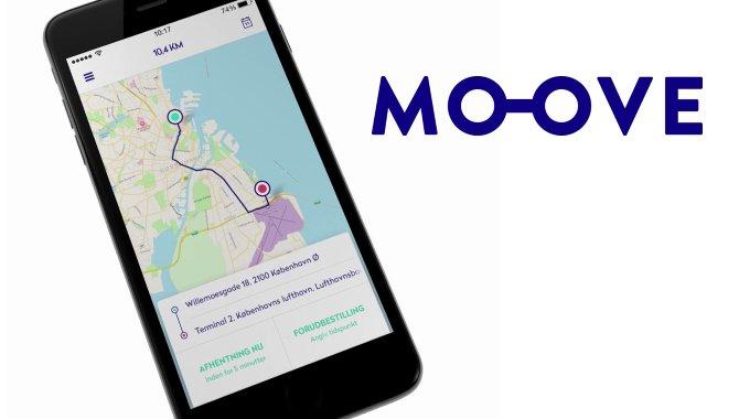 MOOVE: Ny dansk taxi-app henter inspiration fra Uber