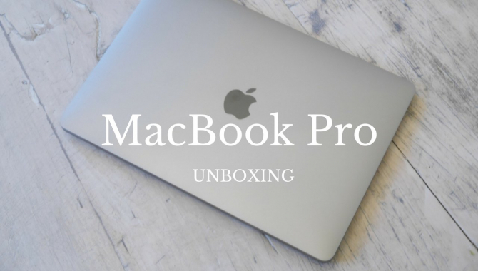 Unboxing af MacBook Pro [WEB-TV]