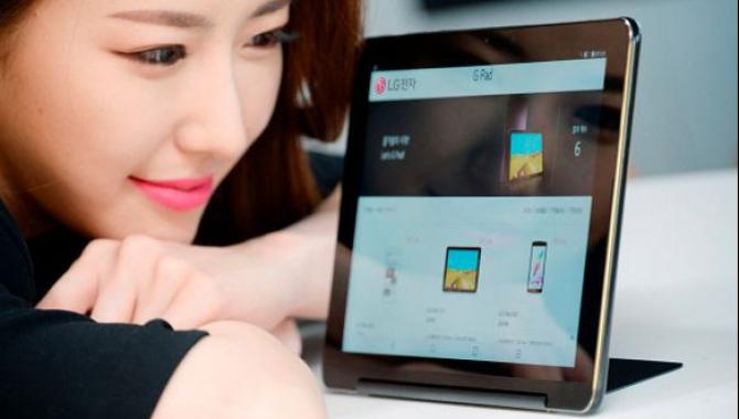 LG lancerer G Pad III – tablet med indbygget kickstand