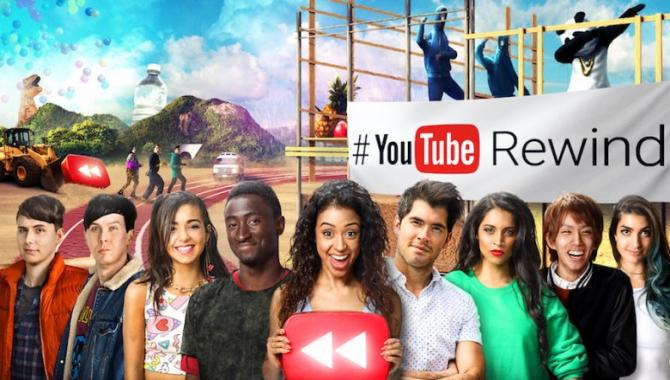 YouTube Rewind 2016: Alle årets højdepunkter