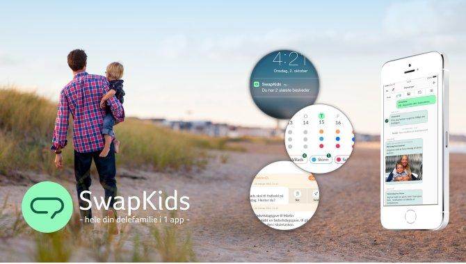 SwapKids: Ny, dansk app til skilsmisseforældre