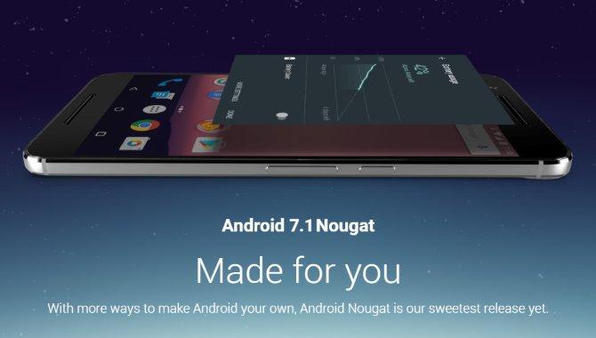 Teleselskab: Android 7.1 Nougat ruller ud næste uge
