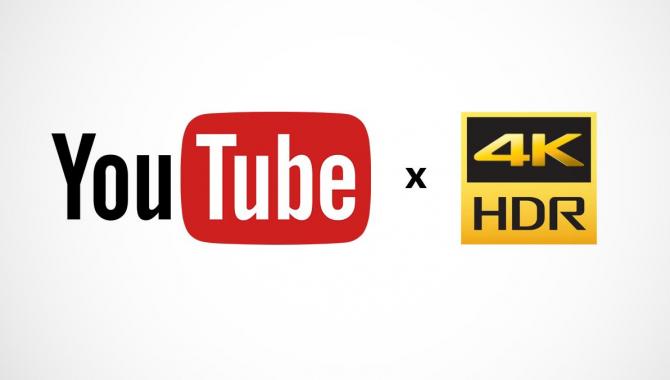 YouTube understøtter nu HDR-video