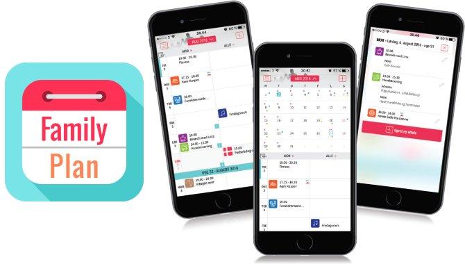 FamilyPlan: Få overblik over familiens kalenderaftaler