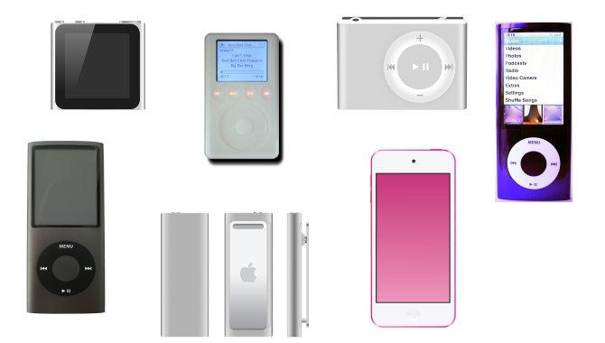 Apple iPod fylder 15 år – se udviklingen år for år