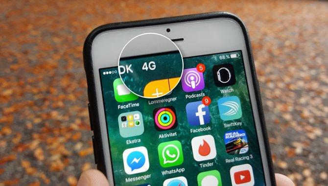 R, E, H, 3G, 4G+ … Hvad betyder bogstaverne på min mobil? [TIP]