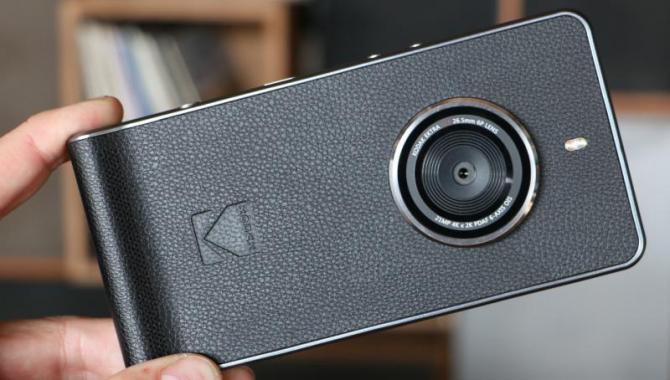 Kodak springer ud som smartphone-producent