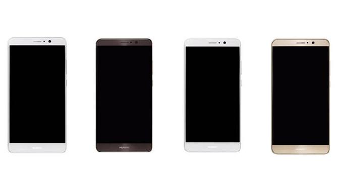 Fotos af Huawei Mate 9 lækket: får et buet display