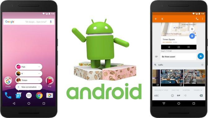 Android 7.1 Nougat er nu officiel: Her er nyhederne