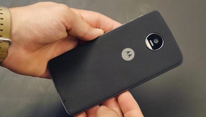 Motorola Moto Z: Hands-on med modul-flagskibet [WEB-TV]