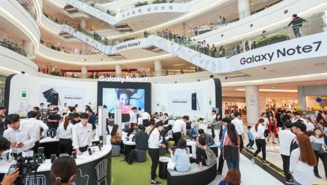 Officielt: Samsung Galaxy Note 7 er tilbage i handlen
