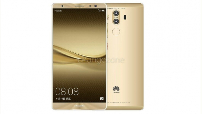 Lækkede pressefotos: Her er Huawei Mate 9