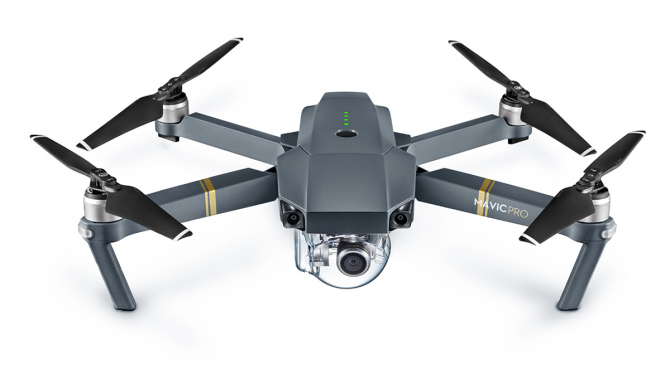 DJI Mavic Pro – 4K-dronen der kan følge dig overalt
