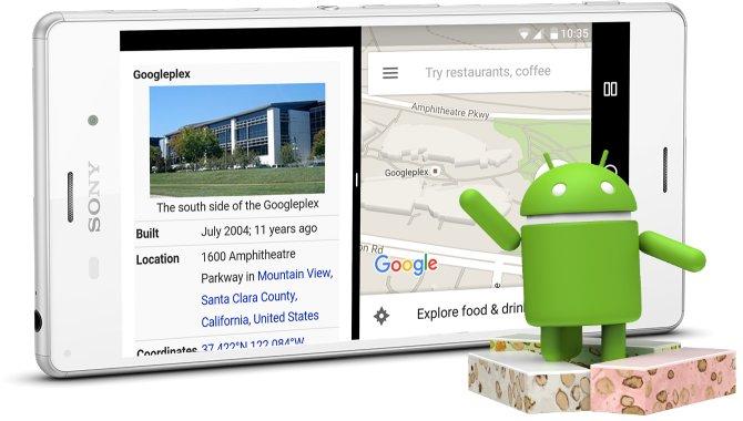 Se hvornår Sonys telefoner får Android 7.0 Nougat