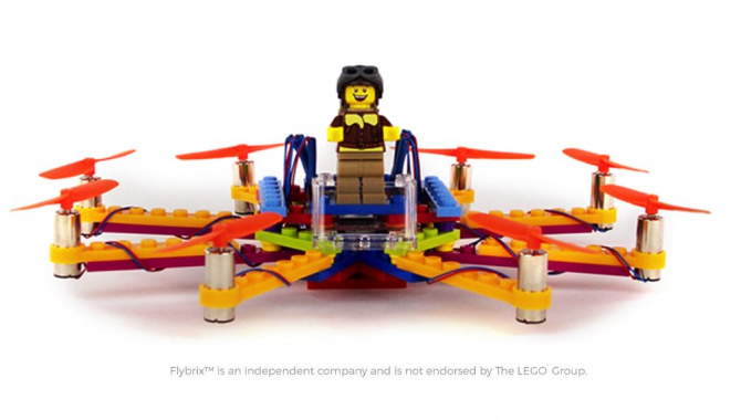 Byg din egen drone med dit gamle LEGO