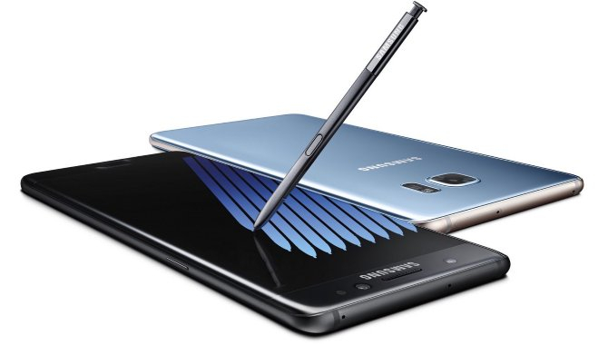 Samsung Galaxy Note 7 ventes klar til salgi Danmark i oktober