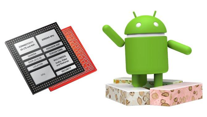Ingen Android 7.0 Nougat til Snapdragon 800- og 801-mobiler