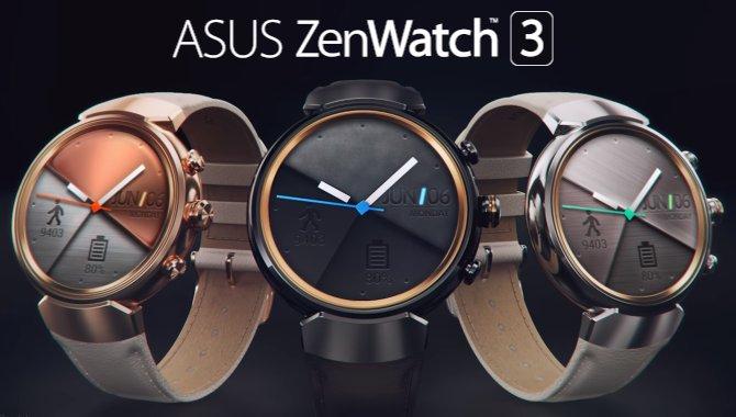 ASUS lancerer ZenWatch 3 – nu med rund skærm