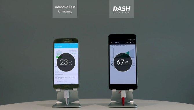 OnePlus 3 slår Samsung Galaxy S7 i hurtigopladning