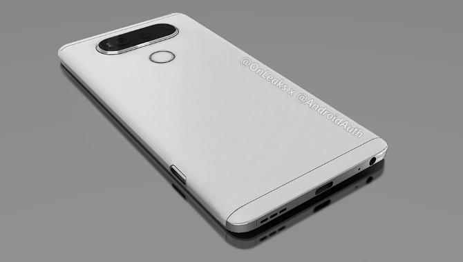 De første billeder af LG V20 dukker op