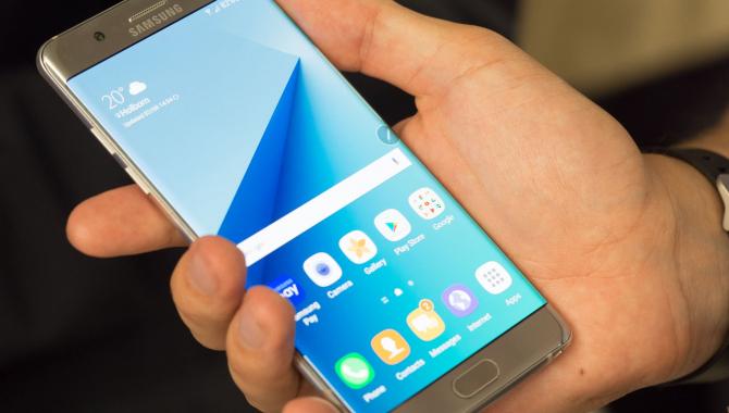 Samsung Galaxy Note 7 –  Übermobilen er tilbage!