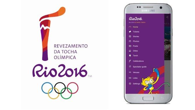 Følg OL 2016 på farten med den officielle Rio 2016-app