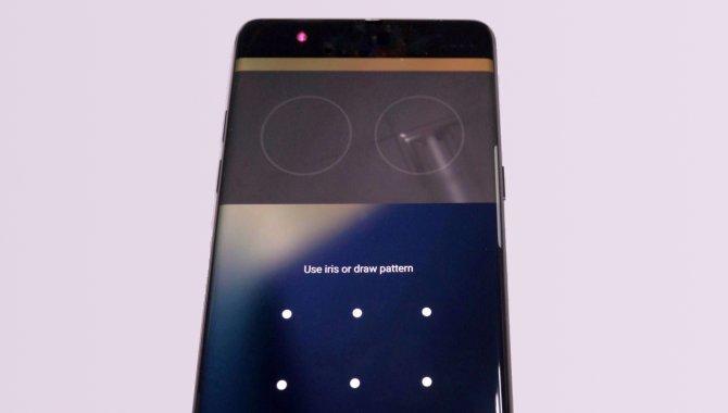 Sådan vil iris-scanneren i Samsung Galaxy Note 7 virke