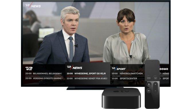 TV2 PLAY er nu ude som app på Apple TV