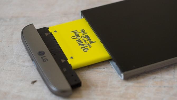 Salget af LG G5 er kun det halve af det forventede