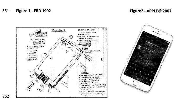 Mand 'opfandt' iPhone i 1992: Sagsøger Apple for 67 mia. kr.