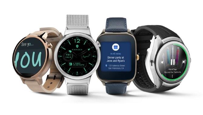 Ældre smartwatches får ikke Android Wear 2.0