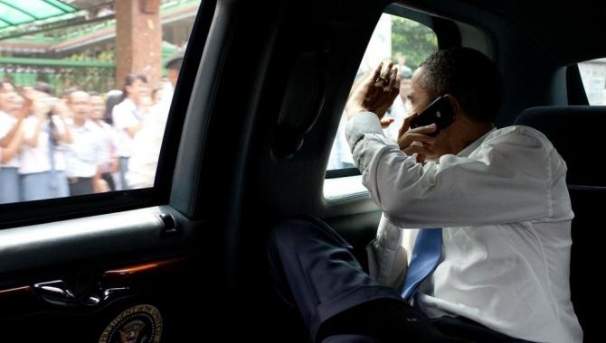 Obama vrager Blackberry til fordel for Android