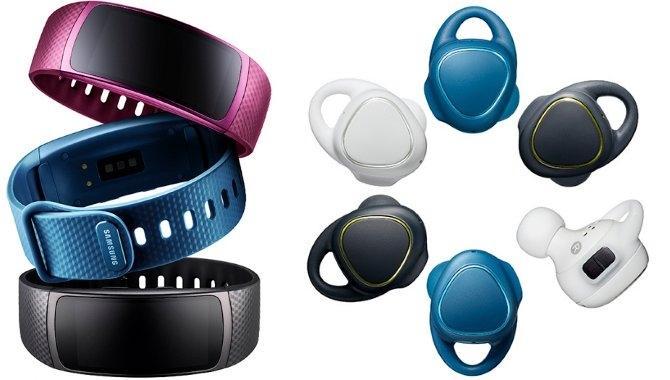 Nye fitness-wearables fra Samsung: Gear Fit 2 og Gear IconX