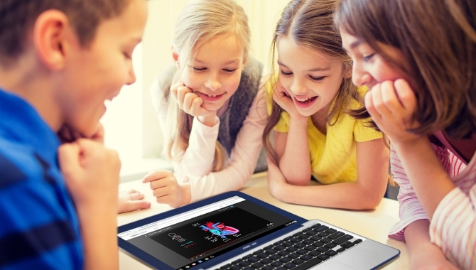 Asus Chromebook C202 – en stødsikker laptop til de små