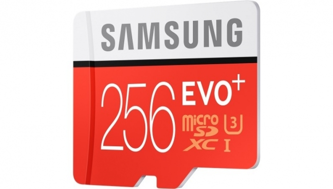 Samsung lancerer det ultimative 256GB micro-SD kort