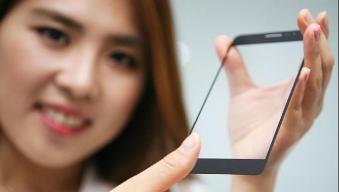 Ny LG-teknologi: En usynlig fingeraftrykslæser
