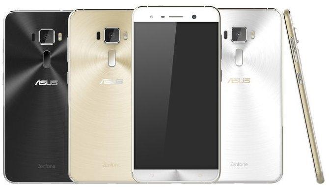 Billeder og specifikationer af ASUS Zenfone 3 dukker op