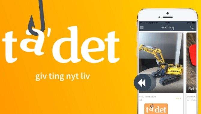 """Find gratis ting med appen """"ta' det"""" til Android og iOS"""