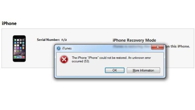 """Apple ramt af massesøgsmål efter """"fejl 53""""-ramte iPhones"""