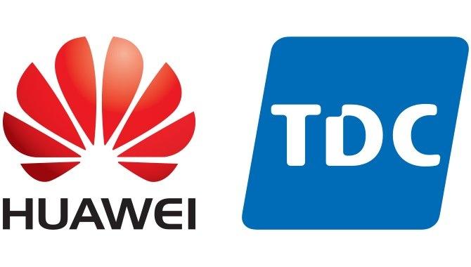 Huawei og TDC opgraderer landet med lynhurtigt bredbånd