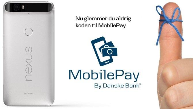 Login med fingeraftryk i MobilePay nu ude til Android