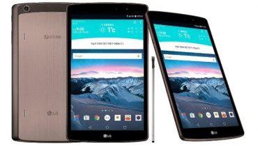 LG lancerer tabletten G Pad II 8.3 med 4G og stylus