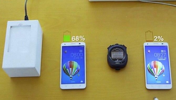 Huawei demonstrerer 10 gange hurtigere lynopladning