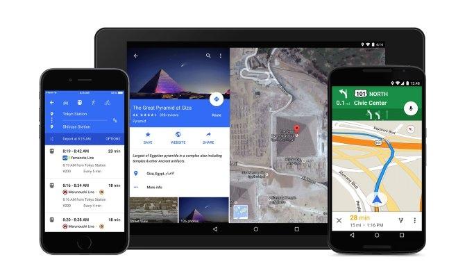 Nu kan Google Maps navigere med gemte offlinekort