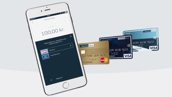 Nu kan MobilePay let skifte mellem flere betalingskort